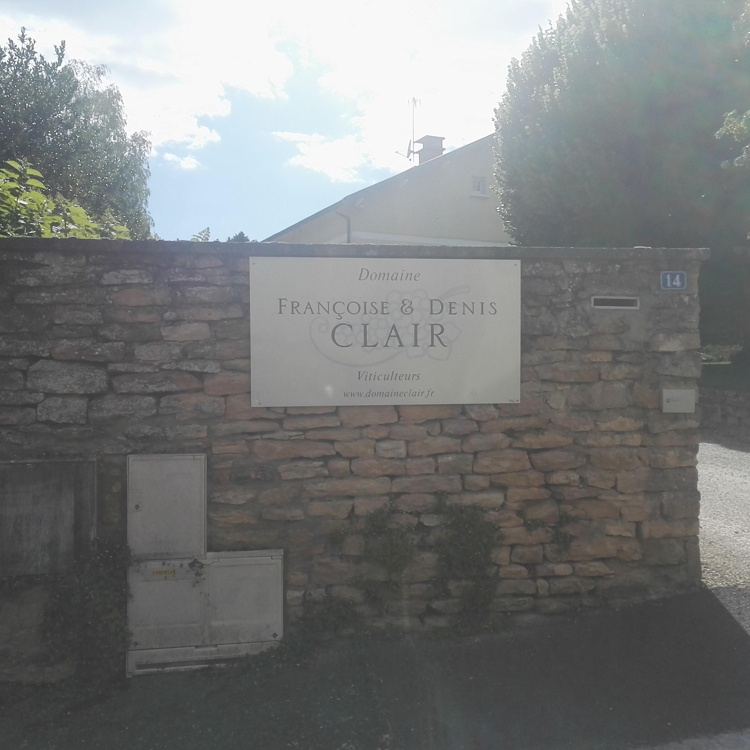 Domaine Francoise et Denis Clair